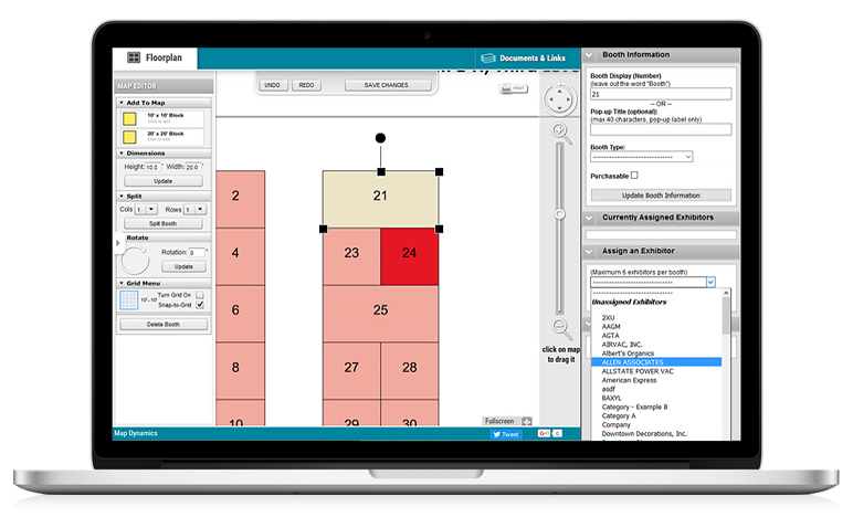Floorplan editor interactive and easy to use map for Interactive floor plan software